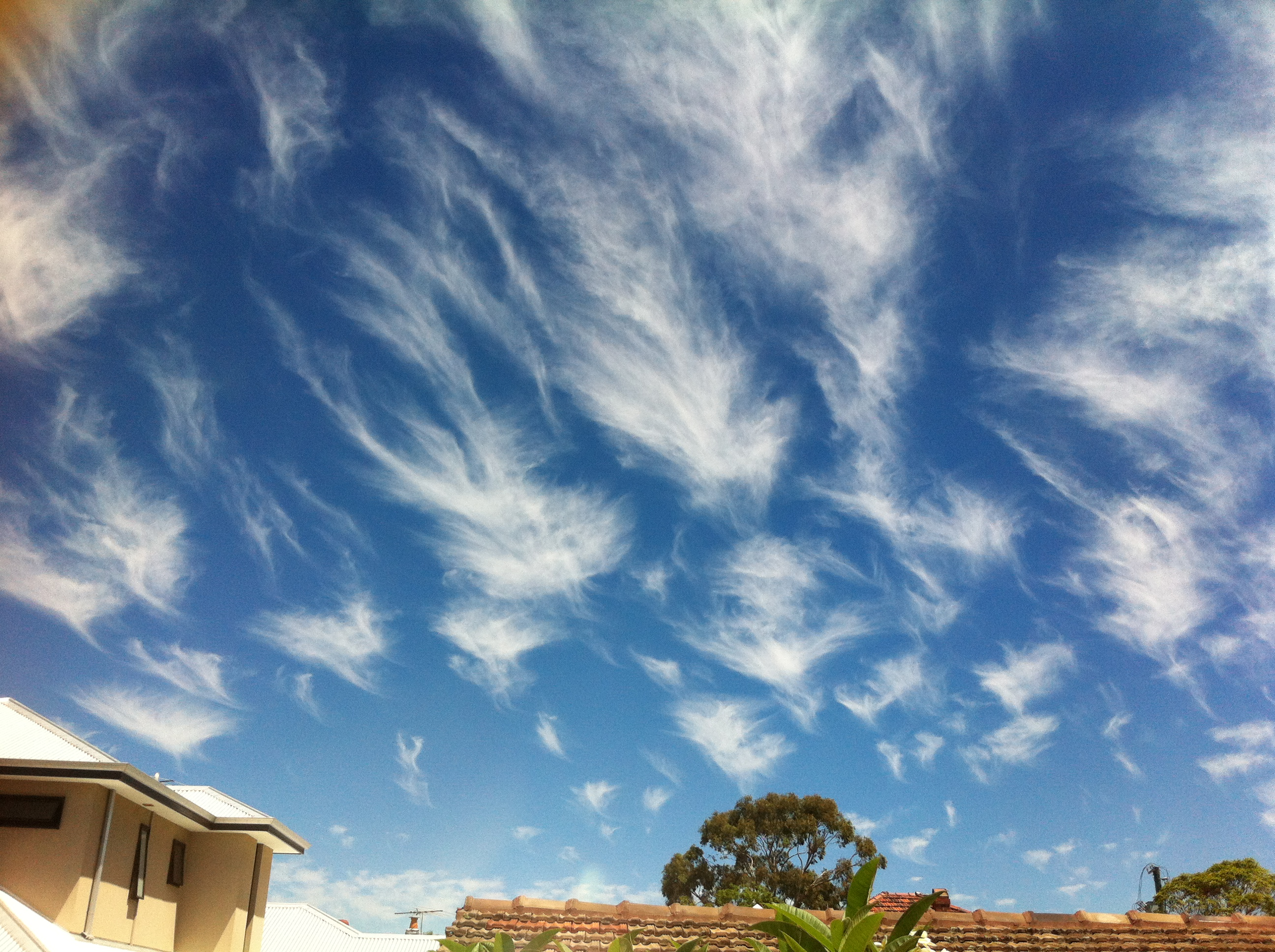 Clouds over Perth