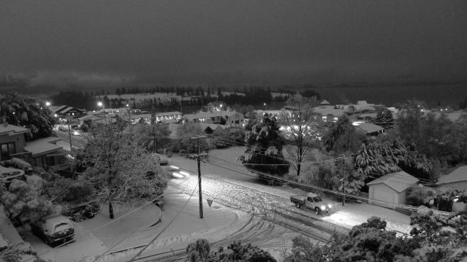 Fresh Snow, Queenstown New Zealand