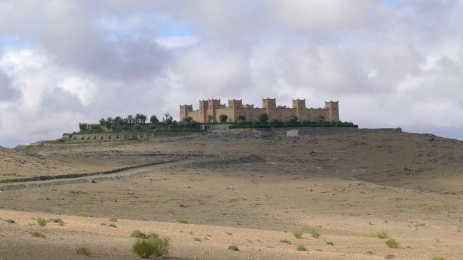 Desert Scape, Near Fes. Morocco.
